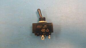 (1 PC) 2GK90-D-3B-B CARLING, G-Series Toggle Switch DPST Solder Lug 15A 250VAC
