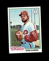 Gene Carter Hand Signed 1978 Topps Philadelphia Phillies Autograph