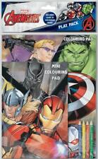 Marvel Avengers Garçons Classic Comic Book Style Play Pack Coloriage Activité Set