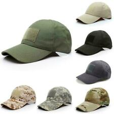 Led Outdoor Camouflage Baseball Cap For Man Breathable Fashion Sunscreen Z0F1