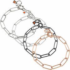 Sprenger Halskette Halsband Edelstahl/Matt/Schwarz/Curogan / Typ: Langgliedrig