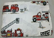Fire Truck Fire Fighter & Dalmation Twin Duvet Cover Company Store Kids Cotton