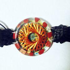 Red Jasper Mahakala 21 Vortex Bracelet Metayantra ORGONE