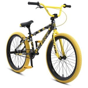 SE  So. Cal Flyer Yellow Camo 24 In Wheel
