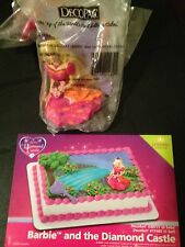 DecoPac BARBIE AND THE DIAMOND CASTLE CAKE TOPPER DECORATING KIT BIRTHDAY NEW