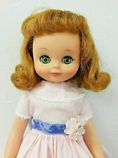 """Vintage 1958 American Character 14"""" Betsy Mccall Vinyl Doll in """"Playtime' Dress"""