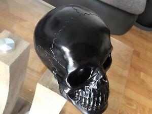 Totenkopf  Deko   Skull-Schwarz