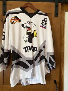 Russian Hockey Player Cut Jersey Size 48 Tpaktop Poccnr Polar Bear KHL