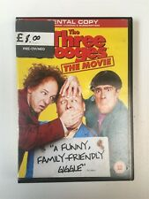 The Three Stooges The Movie (Rental Copy) DVD