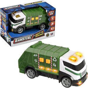 Teamsterz Light & Sound Garbage Rubbish Truck Lorry Toy New