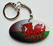 Welsh Rugby Ball Keyring - RU3K