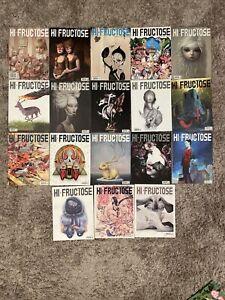 hi fructose magazine lot of 18
