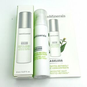 Bare Minerals Ageless 10% Phyto-Retinol Night Concentrate  8ml .27oz Sample Size