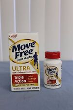 SEALED Schiff Move Free Joint Health Ultra Triple Action 30 Tiny Tablets 12/2019