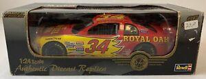 1997 Revell MIKE McLAUGHLIN Royal Oak #34 NASCAR car 1:24