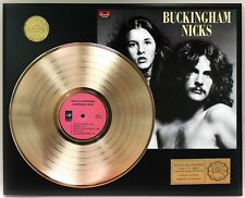 Buckingham Nicks GOLD LP LTD EDITION RECORD DISPLAY