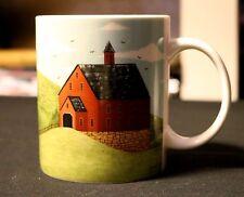Warren Kimble Gibson Home BRAND NEW RED BARNS Barn Folk Art Coffee Mug15 oz Cap.