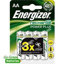 4 xPilas recargables precargadas Energizer AA 2000 mAh NiMH HR6. No autodescarga