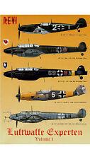 1/48 REVI decals Luftwaffe Experten Pt 1 Messerschmitt Bf 109 - 48004