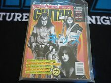 """KISS Guitar World """"Special Kiss"""" Issue Sept.1996 w/ Poster! Mint!"""