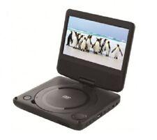 "Polaroid Black 7"" Portable DVD Player USB Play Swivel Screen - Multi Region Free"