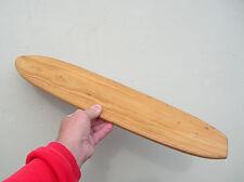 Vintage Nash Wooden Sidewalk Skateboard Surfboard 1960s Deck Nice Skater Hobie