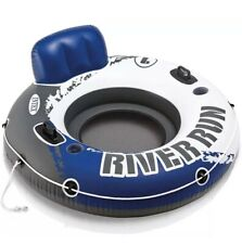 Intex River Run 1 Person Inflatable Floating Water Tube Raft *NEW* FAST SHIP!