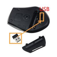 2.4G Mini Wireless Optisch Gaming Maus & USB Empfänger PC Laptop Computer Mäuse