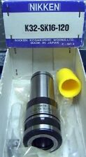 NIB NIKKEN K32 SK16-120 Mill Tooling SLIMCHUCK HOLDER