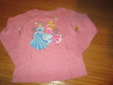 "Tee-shirt Rose motif ""Princesse"" ,ML,T8ans,marque Disney,en TBE"