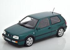 VW GOLF III VR6 1996 GREEN METAL NOREV 188437 1/18 VOLKSWAGEN METALLIC 1:18 3