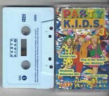 MC KASSETTE PARTY KIDS 3  - Weltraum Schlümpfe,Benjamin Blümchen Mix