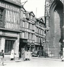 ROUEN c. 1950 - Maisons à Colombages Rue St Romain Seine Maritime- DIV 5113