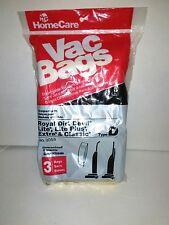 HomeCare  3055 Type D Royal Dirt Devil Lite Lite Plus Extra And Classic Vac Bags