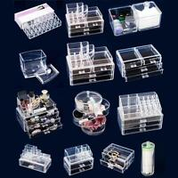 Clear Makeup Case Drawers Cosmetic Organizer Jewelry storage Cabinet Box Acrylic