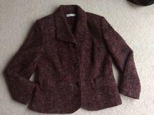 """Mayerline jacket Multi 53% wool 10 12 32"""" waist"""