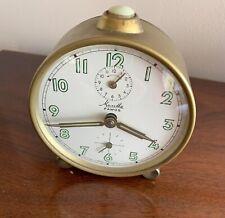Vintage Mauthe Alarm Clock German
