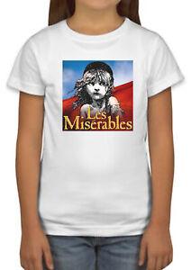 Les Miserables les misrables French Novel Film Girl Boy Kid T shirt Top Gift 209