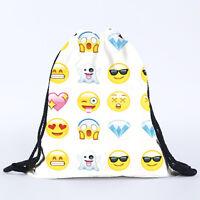 Drawstring PE Gym Swimming Bag School Sports Shoe Dance Backpack Travel Rucksack