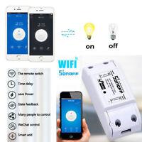 Sonoff ITEAD Home DIY Smart Switch Module Shell ABS Socket WIFI WIRELESS DESIGN