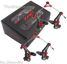 TRP RevoX Front& Rear Carbon/Alloy/Titanium Black Cantilever Bike Brakes CX PAIR