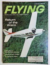 Waco S-220 Cessna UC-78 Bamboo Bomber Flying Magazine December 1966 aircraft