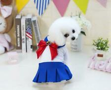 Pet Sailor Moon Collar Uniform Japan Anime Dog Cat Puppy Kitty Costume Dress