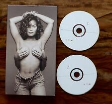 Janet 1993 2CD + Book UK Limited Edition Jackson Remixed & Rare CD