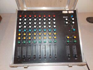 Vintage Kelsey 8-2 Pro Club 8-Channel Sound Mixer w/Case Excellent Working