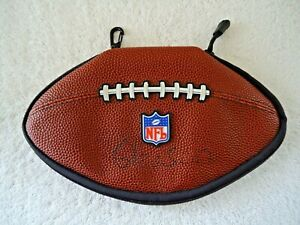 """NFL Football Shaped Video Game / CD Holder """" GREAT RARE COLLECTIBLE ITEM """""""