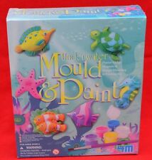 4M 'UNDERWATER'  MOULD & PAINT SET - PERFECT CRAFTING ACTIVITY!