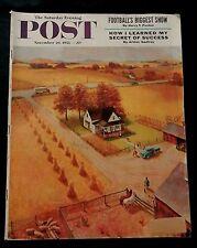 Saturday Evening Post November 26 1955 ARMY NAVY GAME - MAYOR DALEY - GODFREY -