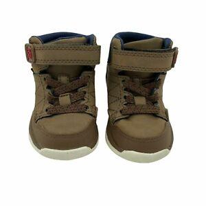 NWOT Stride Rite M2P Saul Brown High Top Sneakers