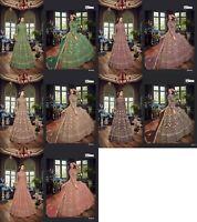 Bollywood Dress Designer Wear Net Anarkali Suit Indian Pakistani Salwar Kameez